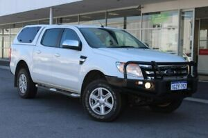 2015 Ford Ranger PX XLT Double Cab White 6 Speed Sports Automatic Utility Osborne Park Stirling Area Preview