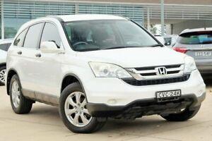 2012 Honda CR-V RE MY2011 Luxury 4WD White 5 Speed Automatic Wagon