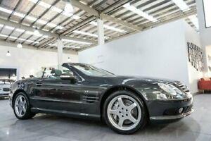 2003 Mercedes-Benz SL55 AMG R230 Grey 5 Speed Auto Touchshift Convertible Port Melbourne Port Phillip Preview