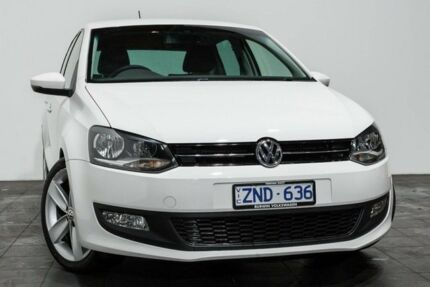 2013 Volkswagen Polo 6R MY14 77TSI DSG Comfortline White 7 Speed Sports Automatic Dual Clutch