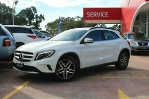 2016 Mercedes-Benz GLA180 X156 807MY DCT White 7 Speed Sports Automatic Dual Clutch Wagon Dandenong Greater Dandenong Preview