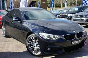 2014 BMW 420d F36 M Sport Gran Coupe Black 8 Speed Sports Automatic Hatchback Pearce Woden Valley Preview