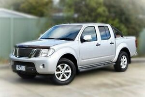 2011 Nissan Navara D40 S5 MY12 ST-X Silver 7 Speed Sports Automatic Utility Berwick Casey Area Preview