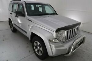 2008 Jeep Cherokee KK MY08 Sport Silver 5 Speed Sports Automatic Wagon Hamilton North Newcastle Area Preview