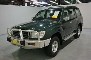 1998 Toyota Landcruiser FZJ105R GXL Green 4 Speed Automatic Wagon Old Guildford Fairfield Area Preview