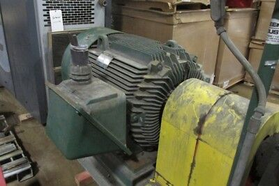 Used 100 HP Electric Motor Baldor Frame 5007L 585 RPM TEFC 1 460 Volt E-OK