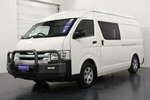 2016 Toyota HiAce KDH221R MY15 SLWB White 4 Speed Automatic Van Oakleigh Monash Area Preview
