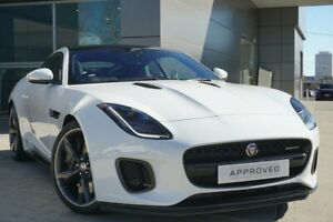 2017 Jaguar F-TYPE X152 MY18.5 280kW Quickshift RWD Fuji White 8 Speed Sports Automatic Coupe Pearce Woden Valley Preview