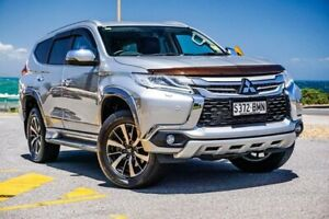 2016 Mitsubishi Pajero Sport QE MY16 Exceed Silver 8 Speed Sports Automatic Wagon Christies Beach Morphett Vale Area Preview