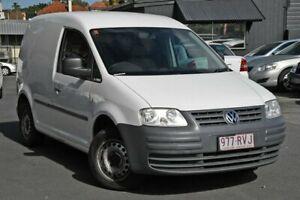 2010 Volkswagen Caddy 2KN SWB White 5 Speed Manual Van Nundah Brisbane North East Preview