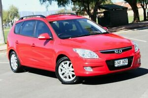 2009 Hyundai i30 FD MY09 SLX cw Wagon Red 4 Speed Automatic Wagon Nailsworth Prospect Area Preview