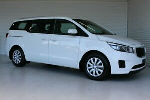 2017 Kia Carnival YP MY17 S White 6 Speed Sports Automatic Wagon Parramatta Park Cairns City Preview