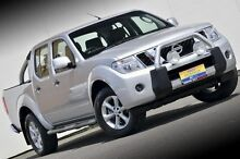 2012 Nissan Navara D40 S6 MY12 ST Silver 5 Speed Sports Automatic Utility Ferntree Gully Knox Area Preview