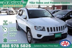 2016 Jeep Compass High Altitude w/4x4, Leather