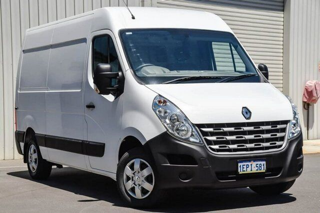 4eb341791e179d 2014 Renault Master X62 Mid Roof LWB AMT RWD White 6 Speed Sports Automatic  Single Clutch Van