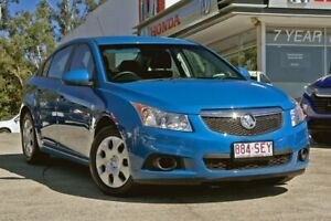 2011 Holden Cruze JH Series II MY12 CD Blue 6 Speed Sports Automatic Sedan Noosaville Noosa Area Preview