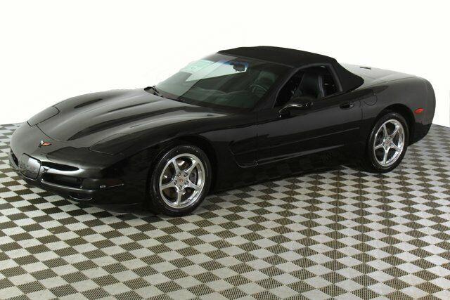 2000 Black Chevrolet Corvette     C5 Corvette Photo 3