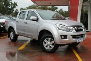 2012 Isuzu D-MAX MY11 LS-M Silver 5 Speed Manual Utility Dandenong Greater Dandenong Preview