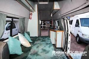 U3463 Mercedes Benz MB140 Hi Top Campervan In Great Condition Penrith Penrith Area Preview