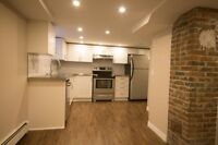 BRAND-SPANKING-NEW 1 BED WITH LAUNDRY AND PARKING  40F1