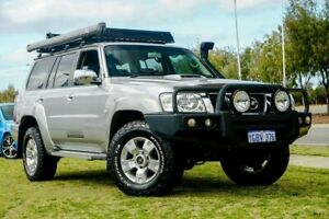 2015 Nissan Patrol Y61 GU 9 ST Silver, Chrome 4 Speed Automatic Wagon Clarkson Wanneroo Area Preview