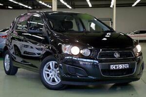 2014 Holden Barina TM MY15 CD Black 5 Speed Manual Hatchback Lisarow Gosford Area Preview