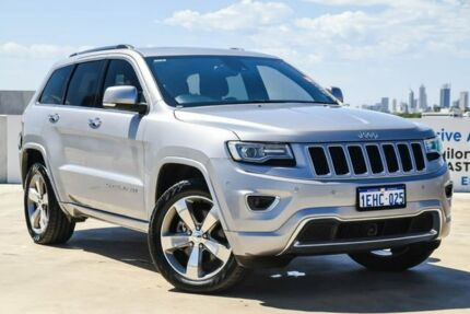 2013 Jeep Grand Cherokee WK MY2014 Overland Silver 8 Speed Sports Automatic Wagon Osborne Park Stirling Area Preview