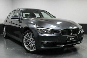 2014 BMW 3 Series F30 MY0813 328i Luxury Line Grey 8 Speed Sports Automatic Sedan