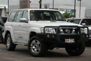 2016 Nissan Patrol Y61 GU 10 ST White 4 Speed Automatic Wagon Caloundra West Caloundra Area Preview