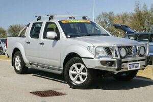 2013 Nissan Navara D40 S6 MY12 ST Silver Lightning 5 Speed Sports Automatic Utility Clarkson Wanneroo Area Preview