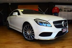 2014 Mercedes-Benz CLS250 CDI White Sports Automatic Sedan Southport Gold Coast City Preview