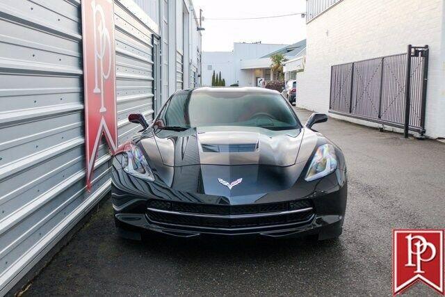 2016 Black Chevrolet Corvette  2LT   C7 Corvette Photo 8