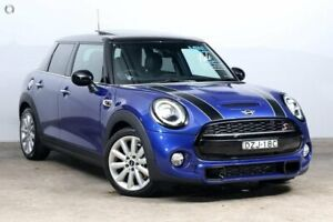 2018 Mini Hatch F55 LCI Cooper S DCT Starlight Blue 7 Speed Sports Automatic Dual Clutch Hatchback Darlinghurst Inner Sydney Preview