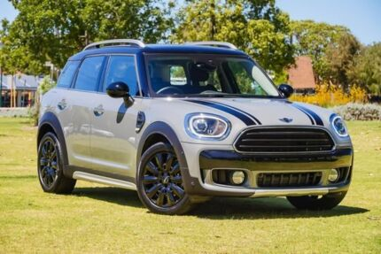 2018 Mini Countryman F60 Cooper D Steptronic Grey 8 Speed Sports Automatic Wagon Burswood Victoria Park Area Preview