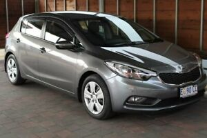 2014 Kia Cerato YD S Grey 6 Speed Sports Automatic Hatchback Glebe Hobart City Preview