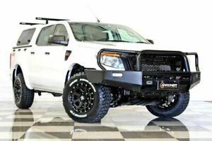 2013 Ford Ranger PX XL 3.2 (4x4) White 6 Speed Automatic Dual Cab Utility Burleigh Heads Gold Coast South Preview