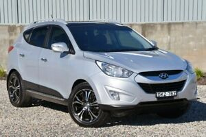 2012 Hyundai ix35 LM MY12 Highlander AWD Silver 6 Speed Sports Automatic Wagon Wyong Wyong Area Preview