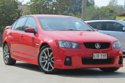 2011 Holden Commodore VE II SS V Red 6 Speed Sports Automatic Sedan East Toowoomba Toowoomba City Preview