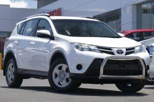 2015 Toyota RAV4 ALA49R MY14 GX AWD White 6 Speed Sports Automatic Wagon Woolloongabba Brisbane South West Preview