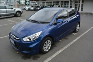 2015 Hyundai Accent RB3 MY16 Active Blue 6 Speed Constant Variable Hatchback Launceston Launceston Area Preview