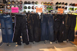 MEN'S AND WOMEN'S MOTORCYCLE RIDING JEANS AND PANTS IN STOCK NOW