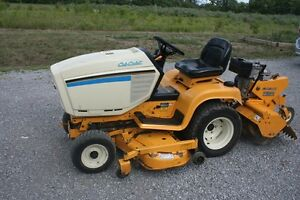 Riding Lawn Mower / Garden Tractor with Rotor Tiller *New Price* Peterborough Peterborough Area image 1