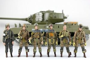 1/18 US WWII Soldier & US Army WWII Airborne NEW