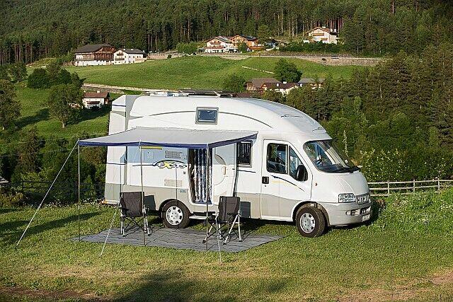Brunner Sunny 260x240 cm Vordach Wohnmobilvorzelt Busvorzelt Sonnensegel