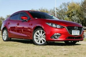 2016 Mazda 3 BM5236 SP25 SKYACTIV-MT Red 6 Speed Manual Sedan Clarkson Wanneroo Area Preview