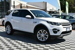2017 Land Rover Discovery Sport L550 17MY TD4 180 HSE White 9 Speed Sports Automatic Wagon Attadale Melville Area Preview