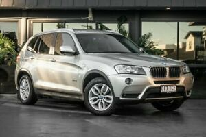 2013 BMW X3 F25 MY0413 xDrive20d Steptronic Silver 8 Speed Automatic Wagon Bowen Hills Brisbane North East Preview