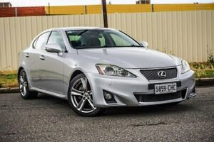 2011 Lexus IS GSE20R MY11 IS250 X Silver 6 Speed Sports Automatic Sedan Gepps Cross Port Adelaide Area Preview
