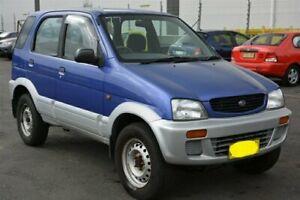1999 Daihatsu Terios J100 DX Blue 5 Speed Manual Wagon Arundel Gold Coast City Preview