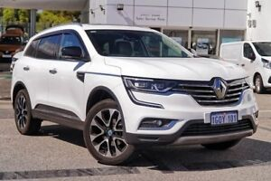 2018 Renault Koleos HZG S-Edition X-tronic White 1 Speed Constant Variable Wagon Osborne Park Stirling Area Preview